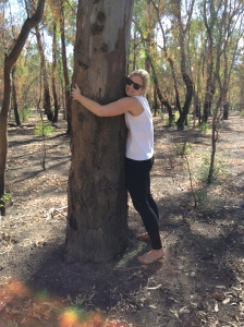 Tree hugging optional -but get outdoors and exercise!